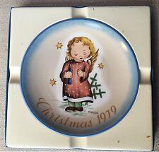 """Schmidt 1979 Christmas plate """"Starlight Angel"""" Berta Hummel"""