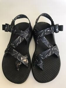 Chacos Z Cloud Outdoor Sporty Strappy Hiking Trail Shoes Sandals Printed Size 7