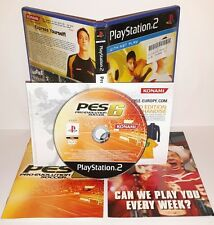 PRO EVOLUTION SOCCER 2006 06 PES 6 - Playstation 2 Ps2 Play Station Gioco Game