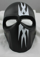 COOL Paintball CS Airsoft Full Face PC Lens Eye Protection Skull Mask PROP L7814