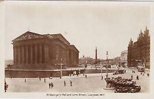 St. George's Hall & Lime Street, LIVERPOOL, Lancashire RP