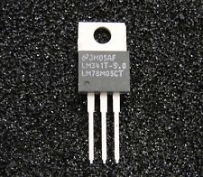 TI National 5V/0.5A  Voltage Regulator LM341T-5.0 (LM78M05CT), TO-220, 10pcs