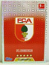 Match Attax 2017/18 Bundesliga - #001 FC Augsburg - Club / Wappen