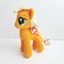 "My Little Pony Applejack Plush Aurora World Orange Stuffed Animal Horse 6.5"""
