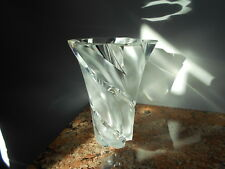 Lalique Narcisse - Large French Crystal Vase - Authentic, Signed, New