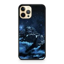 Elegant Cloud Covered Mountains Starry Milky Way Galaxy Space Phone Case Cover