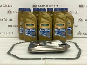 jaguar bmw zf 5 speed 5hp24 automatic gearbox oil filter gasket 7L fluid kit