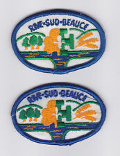 SCOUT OF CANADIAN - ASSOCIATION DES SCOUTS DU CANADA (ASC) RIVE-SUD-BEAUCE Patch