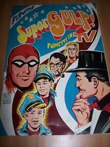 ALBUM DI FIGURINE-SUPERGULP-FUMETTI IN TV-ED.FLASH-1978