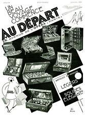 Publicité Ancienne  Voyage Malette de voyage Avenue de l'Opéra  1931( P.20 )