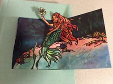 Rare Limited Edition The Little Mermaid Pop Up Book Signed Robert Sabuda 86/250
