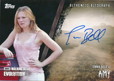 Topps Walking Dead Evolution Autograph A-EB Amy Black 03/50