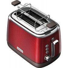Kenwood TCM811RD Mesmerine Toaster rot 980 Watt 2 Schlitz Toaster 3D-Effekt NEU