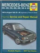 MERCEDES-BENZ W124 SALOON , COUPE & ESTATE ( 1985 - 1993 ) OWNERS REPAIR MANUAL
