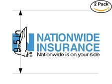 Nationwide Insurance 2 Stickers 9.5 inches Sticker Decal