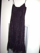 Vintage 1990s Betsey Johnson Black-Pink Cocktail Dress - Size 8