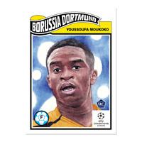Topps UCL Living Set Card Nr. 256  Youssoufa Moukoko RC Rookie  BVB Dortmund