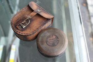 Maritime Vintage Nautical Brass Stanley London 1885 Compass