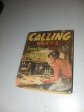 Calling W1XYZ Jimmy Kean and the Radio Spies Whitman #1412 1939 big little book