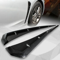 For 2016-2018  Civic Carbon Style ABS Side Fender Vent Air Wing Cover Trim