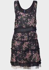 E-vie Floral Sleeveless Dresses Midi for Women