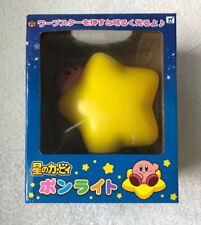 Nintendo Official Hoshi no Kirby Warp Star Lamp Pon Light Japan KAWAII F/S