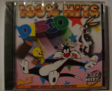 Disco 100% Hits, volume 1 ( CD, NEW, 16 popular tracks, Factory Sealed )
