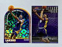 2000-01 Kobe Bryant Hot Prospects NBA Hoops Originals #4H+Fleer Game Time #3AR🐍