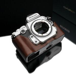 GARIZ Leather Case for Nikon DF XS-CHDFBR Brown
