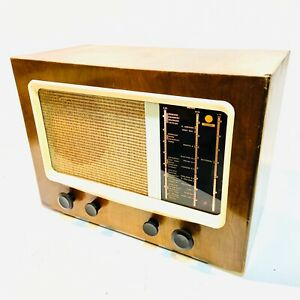 PYE Type 15A Large Table Radio, c1946 Vintage, Valve. Very Clean and Complete