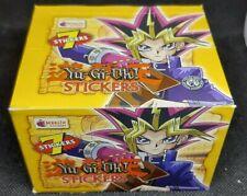 More details for factory sealed! yu-gi-oh merlin topps series 1 sticker box 50 packs!