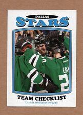 2016-17 O-Pee-Chee Retro Dallas Stars Team Set 23 Cards (#'s 1-660)