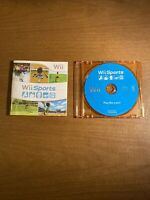 Wii Sports (Nintendo Wii, 2006) Game Disc and Manual Only -Tested and Working