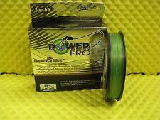 PowerPro Super 8 Slick 65lb 150yds Microfilament Braided Fishing Line Aqua Green