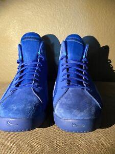 BrandBlack Ether 233-BB Blue Suede Size 13 US Mens Basketball shoes -12 UK -