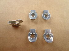 5 OLD SCHOOL NOS 'PAL' CARB LINKAGE CLIPS! - MADE IN U.S.A, DECADES AGO! 1962-65