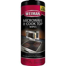 Weiman Microwave & Cook Top Wipes, 30 Wipes, Pack of 4