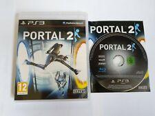 Portal 2-PS3 Juego-PlayStation 3-Gratis, Rápido P&P!