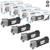 LD Compatible Xerox 106R01597 4pk HY Toner Phaser 6500 & WorkCentre 6508