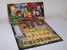 The Simpson's Clue Board Game *Complete*