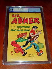 LI'L ABNER AND THE CREATURES FROM DROP-OUTER SPACE (PGX 7.0) F-VF cond FRAZETTA