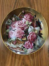 Franklin Mint Collector Plate Princess Grace De Monaco Rose Plate by katherine austen hand numbered decorative victorian