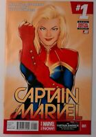 Captain Marvel (8th Series) #1 Marvel 2014 NM- Comic Book Key 1st Appearance Bee