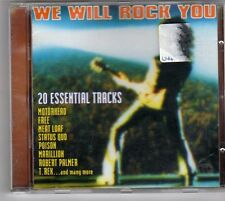 (ES903) We Will Rock You, 20 essential tracks - 2000 CD
