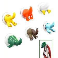 Nice Animal Tails Hooks Hanger Bathroom Kitchen Shower Cloth Towel Suction Cup