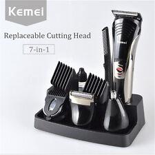 KM-590A 7 en 1 Pro Tondeuse à Cheveux Barbe Rasoir Clipper Sans Fil Rechargeable
