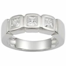 Fossil Schmuck Damen-Ring JF13299 Gr.16 Fingerring Silber / Zirkonia Fossil-Box