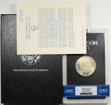 1884-CC MORGAN DOLLAR GSA WITH BOX & CARD NGC MS-65
