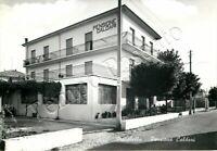 Cartolina di Marebello, pensione - Rimini, 1962