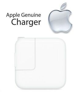 100% Genuine Original Apple iPad 4th Gen - 12W USB Power Adapter Charger (A1401)